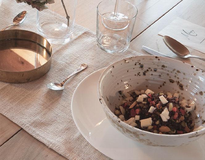 insalatona mista menù spaziobianco Como